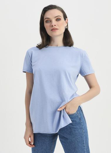 Quzu Tişört Mavi